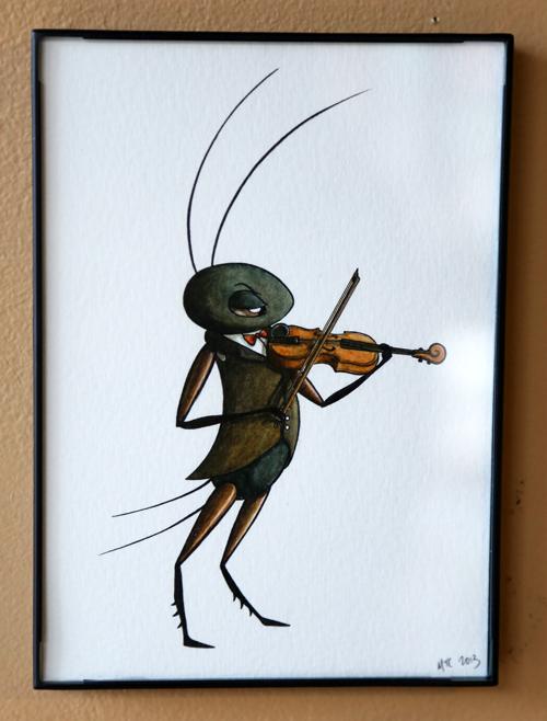 The Cricket Virtuoso