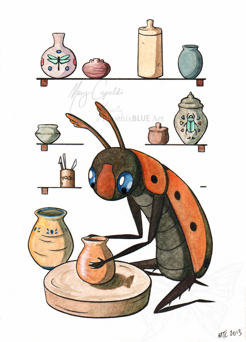 BEETLE-TheScarabPotter-sm