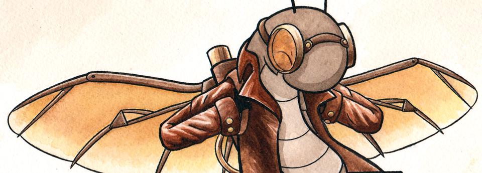 New Bug Friends art: