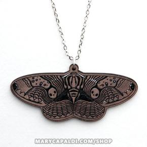 Brahmin Moth Pendant